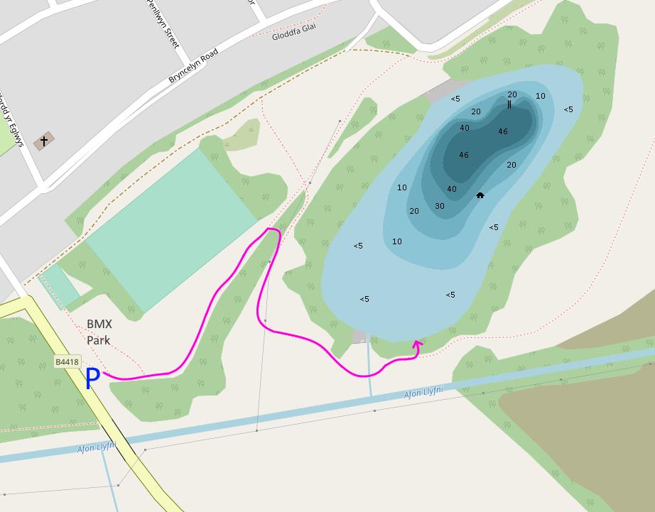 Cloddfa'r-coed site map 2019-06-07