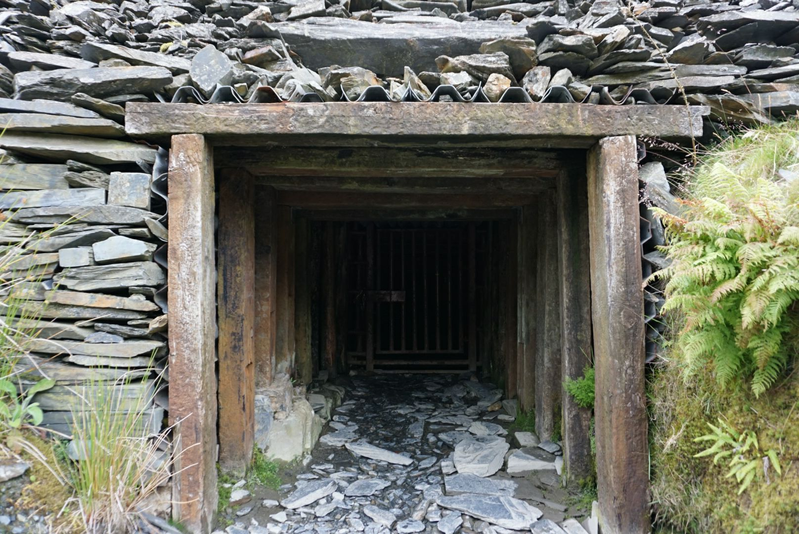 Entrance to Cwmorthin Mine