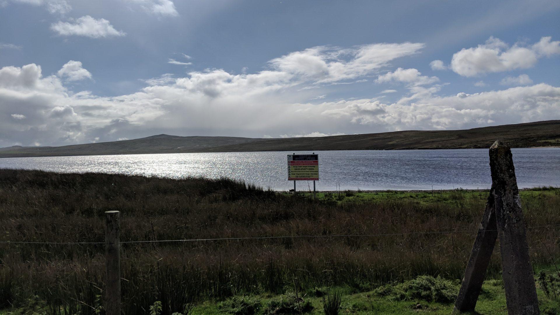 Llyn Aled Signage