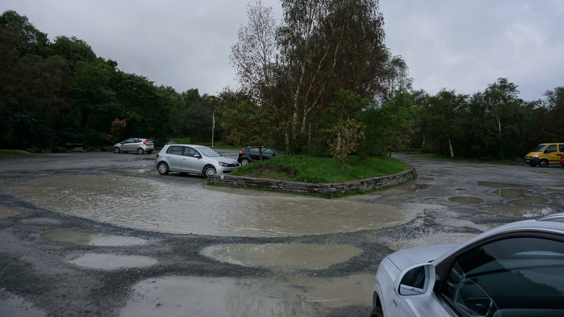 Llyn Padarn Car Park